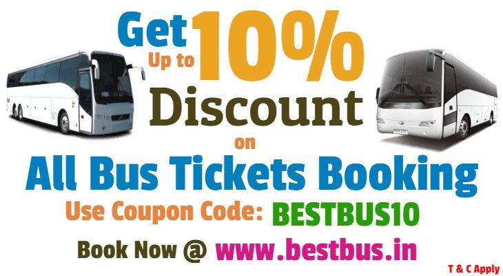 bus ticket discount coupon india