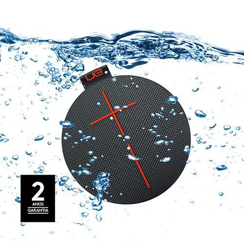Caixa de Som Bluetooth UE Roll Preto à Prova d' Àgua