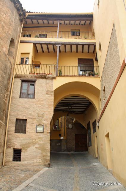 Barrio judio de Tarazona