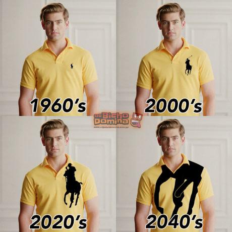 Evolução do logo