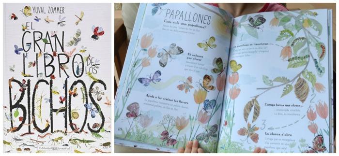 los mejores libros informativos para niños, libros conocimientos insectos, bichos