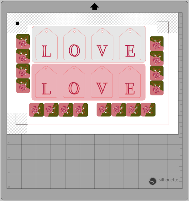 Hints for using up scraps with the Silhouette  . Janet Packer for Silhouette UK Blog
