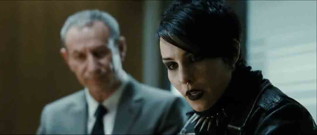 Screen Shot Of Hollywood Movie The Girl with the Dragon Tattoo (2009) In Hindi English Full Movie Free Download And Watch Online at worldofree.co