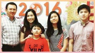 Foto Keluarga Ahok
