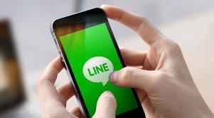 transaksi pulsa via Line