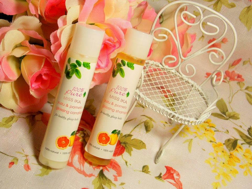 YUZU & POMELO GLOSSING SHAMPOO AND CONDITIONAL