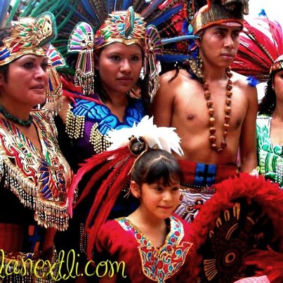 The Plumed Conch Modern Aztecs