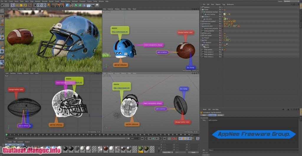 Phần mềm Maxon Cinema 4D,Maxon Cinema 4D