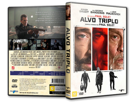 Capa DVD Alvo Triplo [Exclusiva]