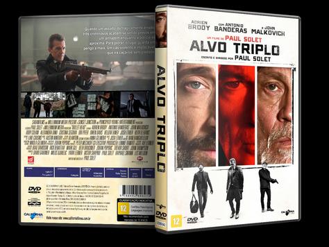 Capa DVD Alvo Triplo [Custom]