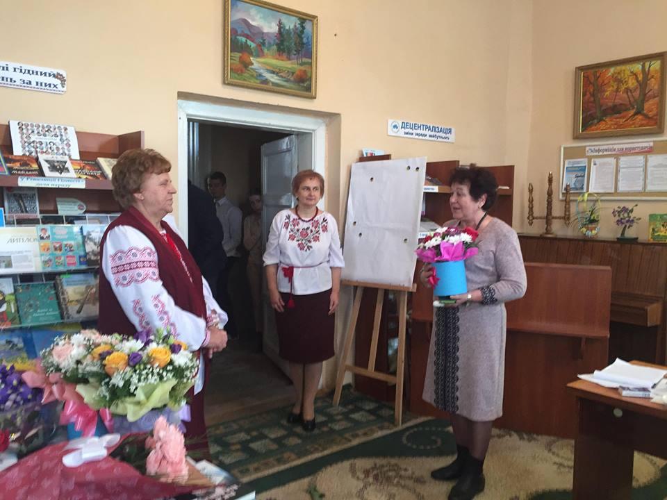 У Виноградові презентували нову книгу Юлії Драгун