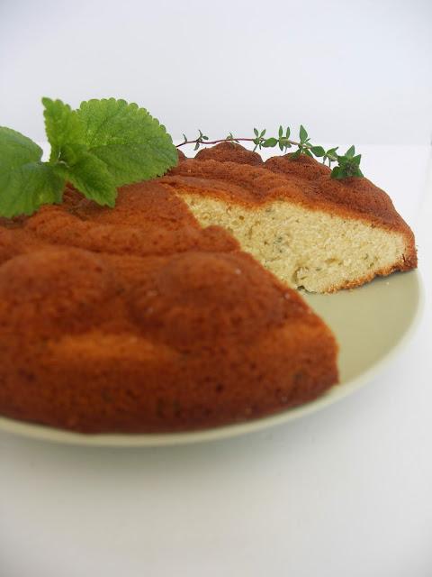 cake citroenmelisse tijm