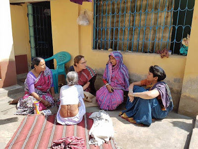 Travels in rural Bengal - visiting a large household