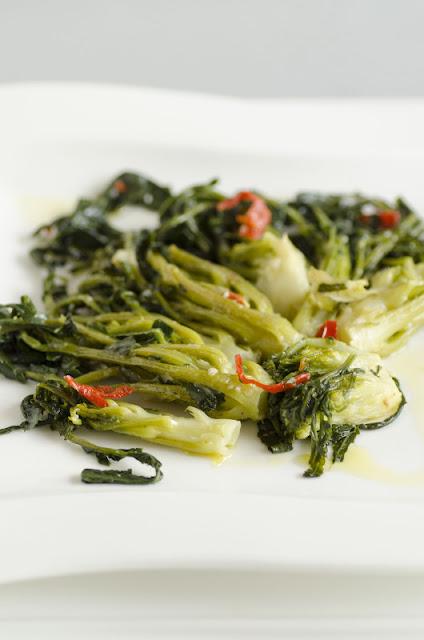 Germogli di broccolo fiolaro di Creazzo