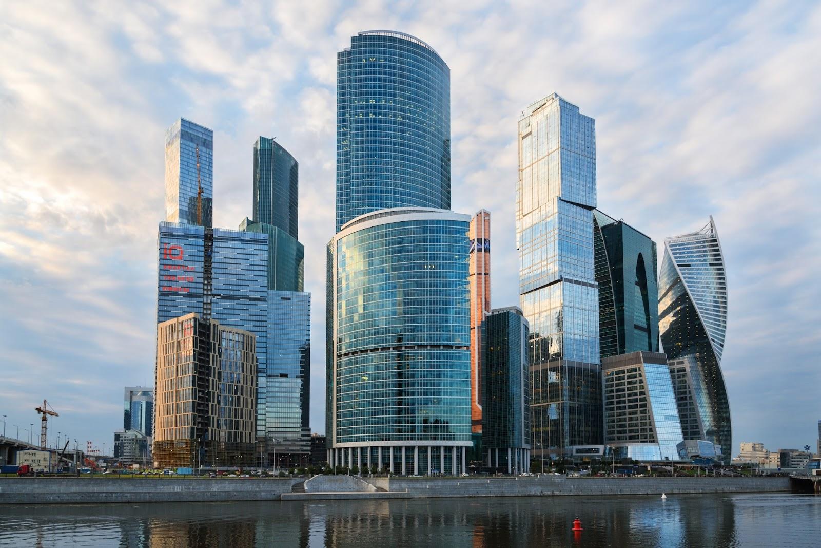 Москва-сити. Фотография.