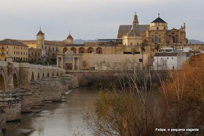 vista de cartão postal em Córdoba, Espanha