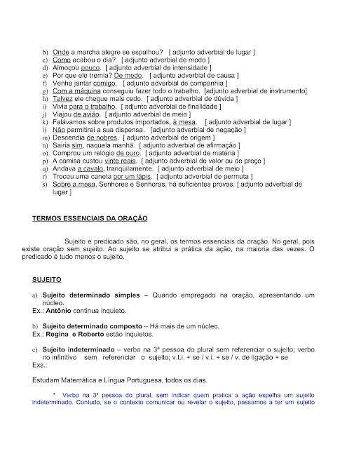 APOSTILA DE PORTUGUÊS PARA CONCURSOS PÚBLICOS