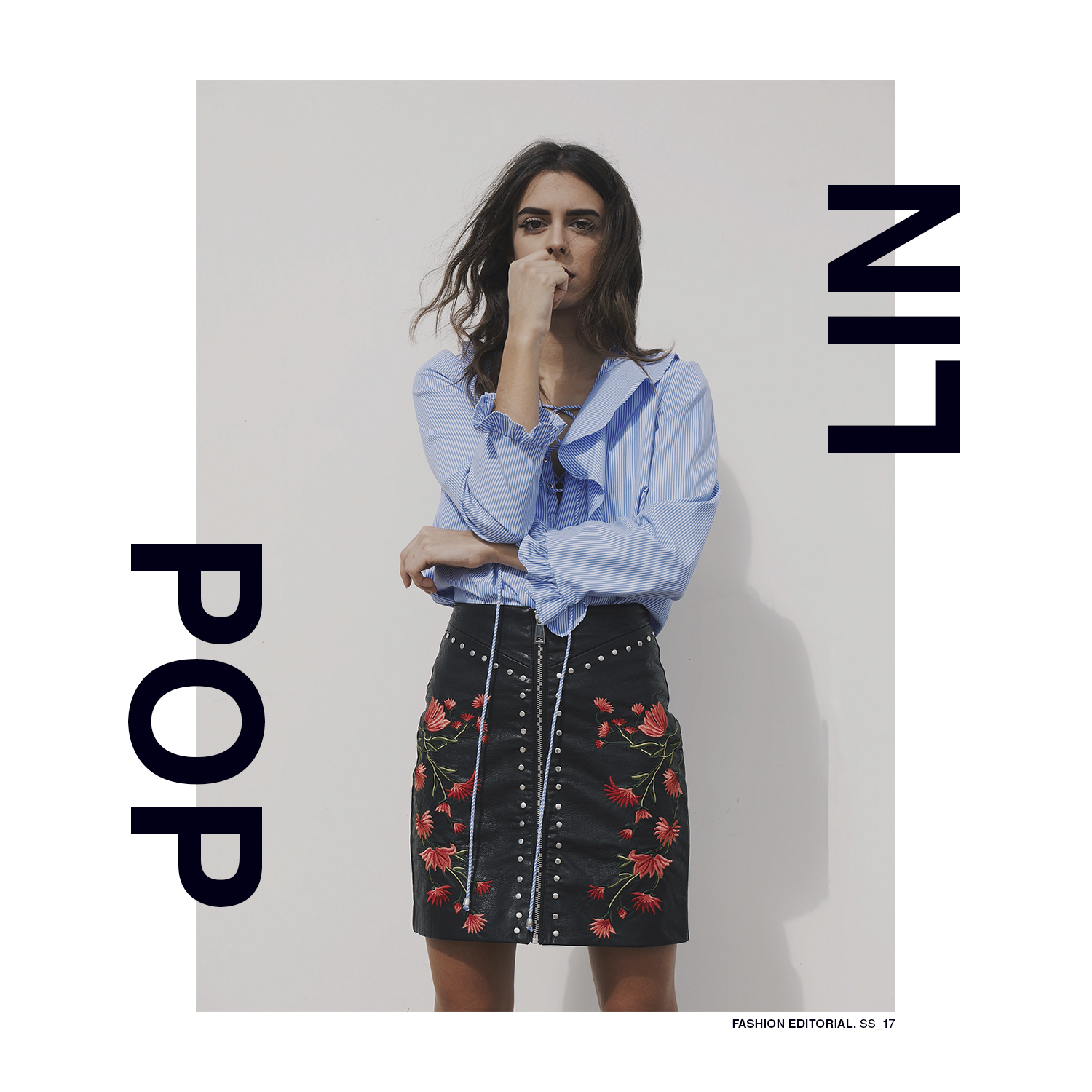 poplin_laceup_shirt_leather_skirt_embroidery_stud_jupeencuir_chemisearayure_ss17_outfit_tenue_blog_ootd_coastalandco_hendaye