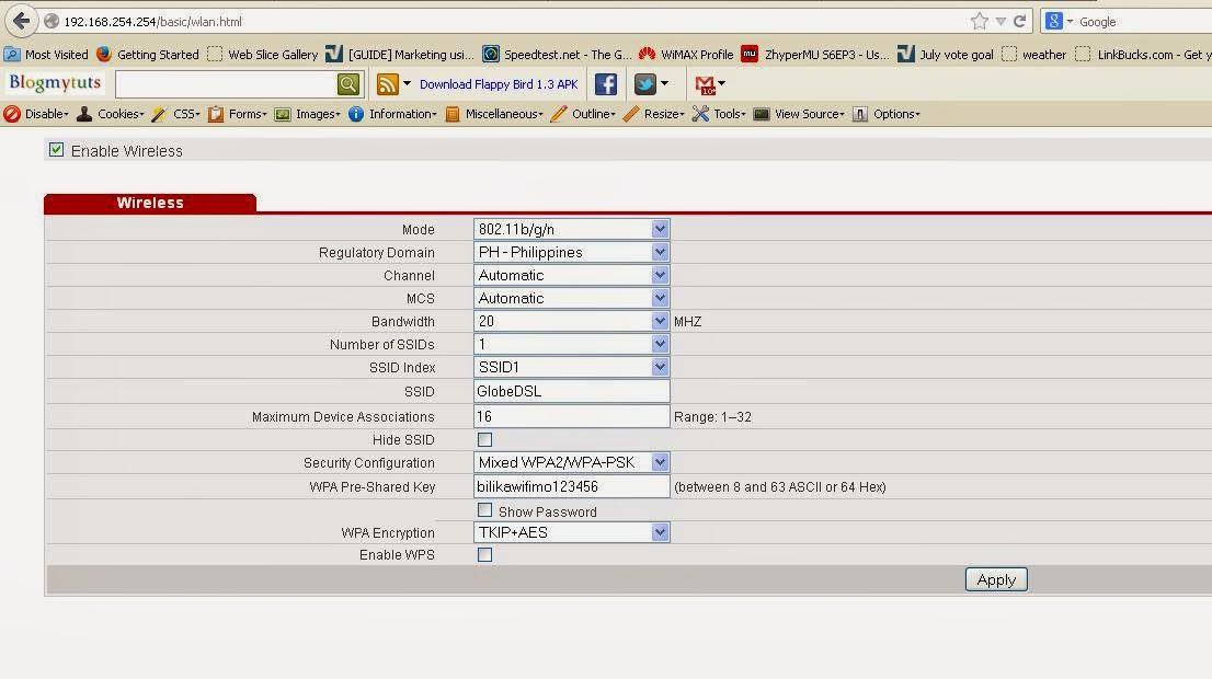 how to change wifi password huawei hg659