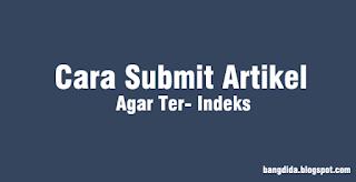 Cara Submit Artikel