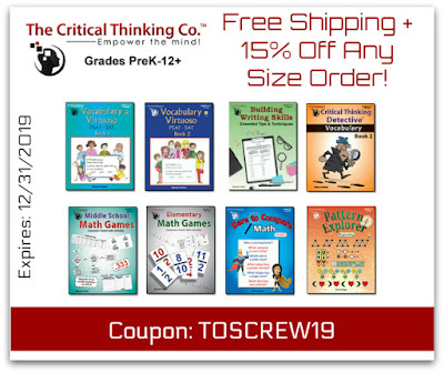 Becoming a Vocabulary Virtuoso with Critical Thinking (A Homeschool Coffee Break Review for the Homeschool Review Crew) @ kympossibleblog.blogspot.com