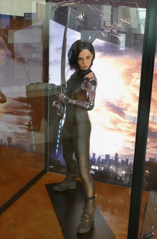 Alita Battle Angel movie costume
