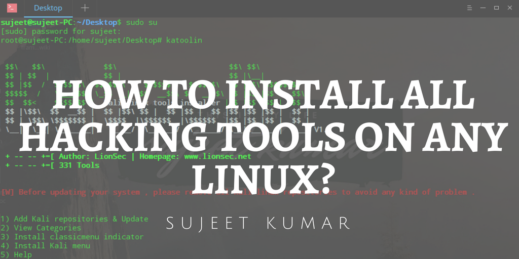 How To Install All Kali Linux Tools On any linux? - Mystery