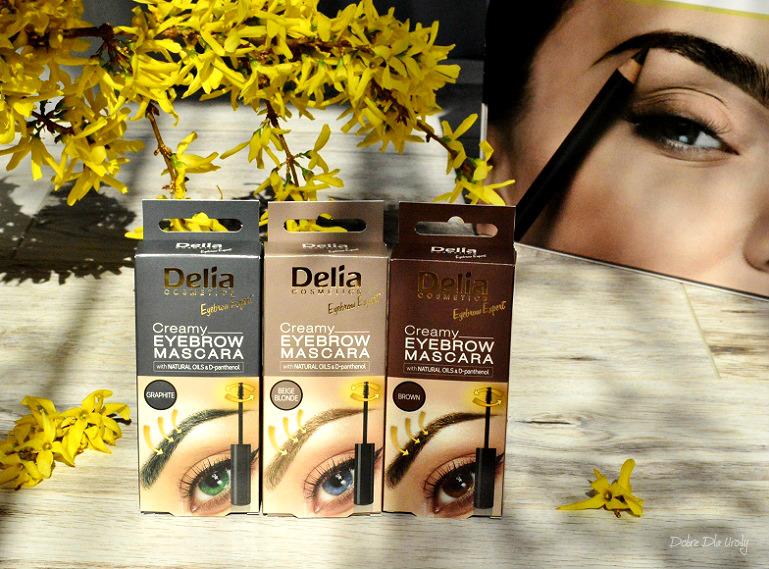 Delia Creamy Eyebrow Mascara Kremowa maskara do brwi