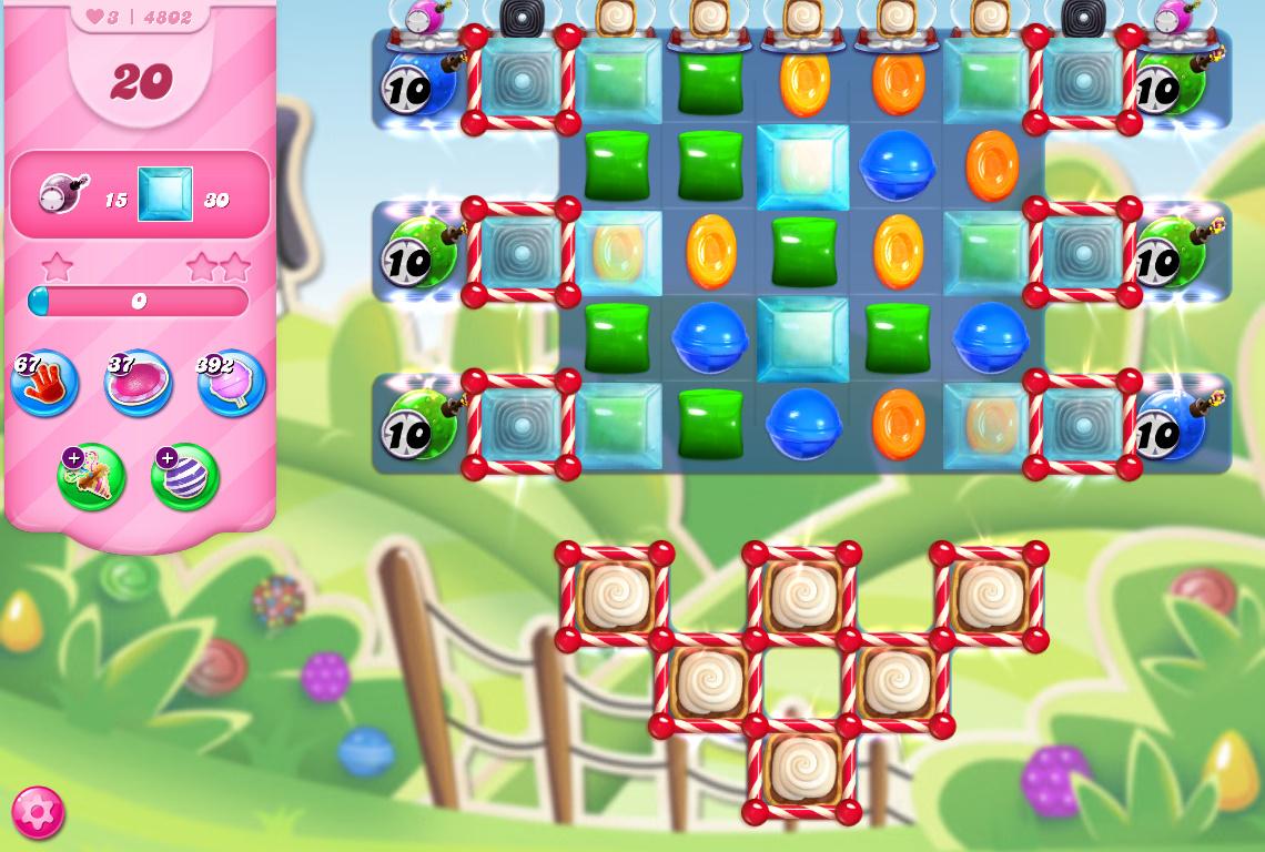 Candy Crush Saga level 4802