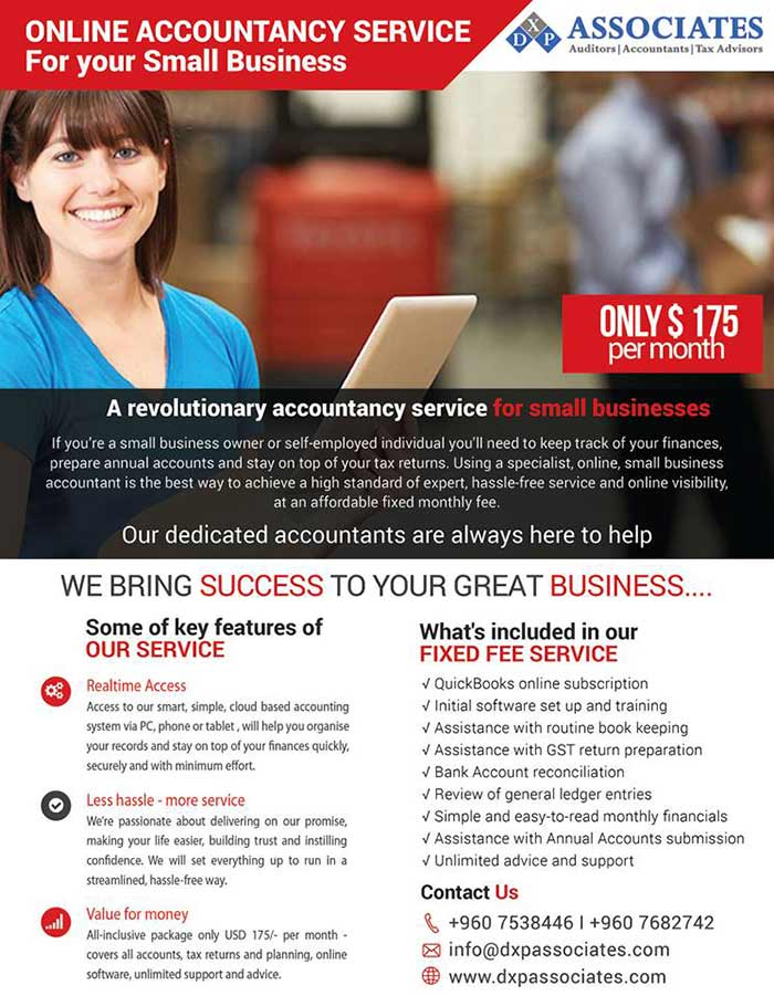 Our Small Business Accounting Services Package is designed specifically for the small business owners. We provide the services you need on a monthly basis to keep your business on track throughout the year. An affordable fixed fee allows you to easily budget your accounting costs and avoid billing surprises.
