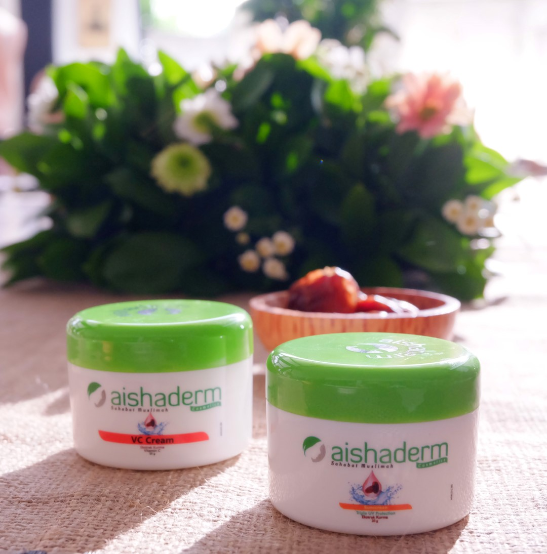 aishaderm-event-2017-review-blogger-jogja-jogjabloggirls-ajengmas-kurmainvasion-khasiat-kurma-vc-cream