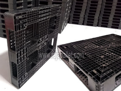 Pallet Plastik Bekas Ukuran 130 X 110 X 15 cm | Harga Promo