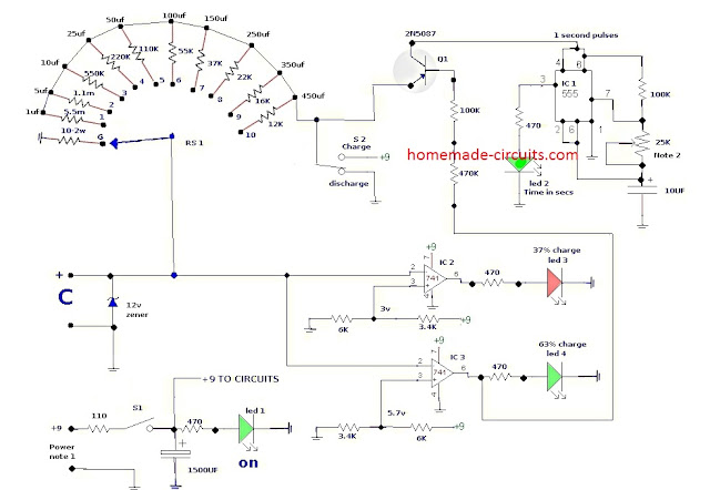 Capacitor Tester Circuit to Find Leaky Capacitors