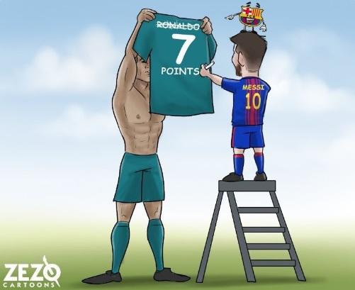 El Real Madrid a 7 puntos del Barcelona