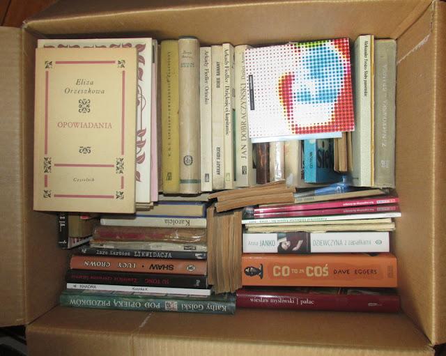 O paczce pełnej starych, dobrych książek!
