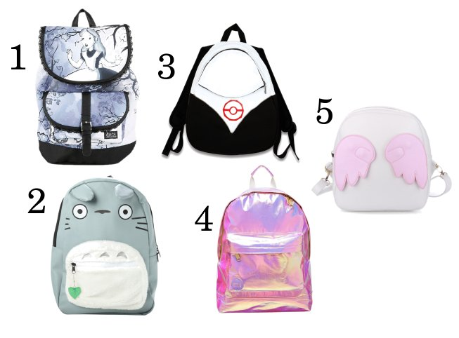 Sabrina NewWave Voice: The Best Backpacks For Your Back To School ...