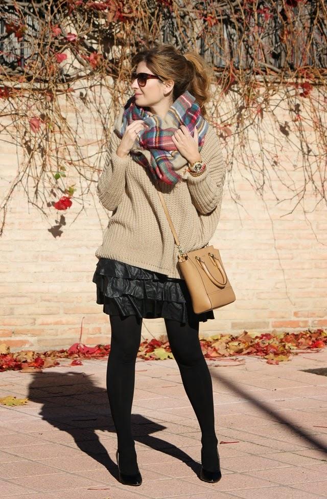 Blog LifestyleBufanda Moda De Cuadros Zara Y Y67vbfgy