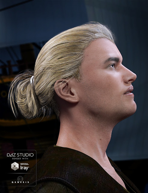 Colin Hair for Genesis 3 Male