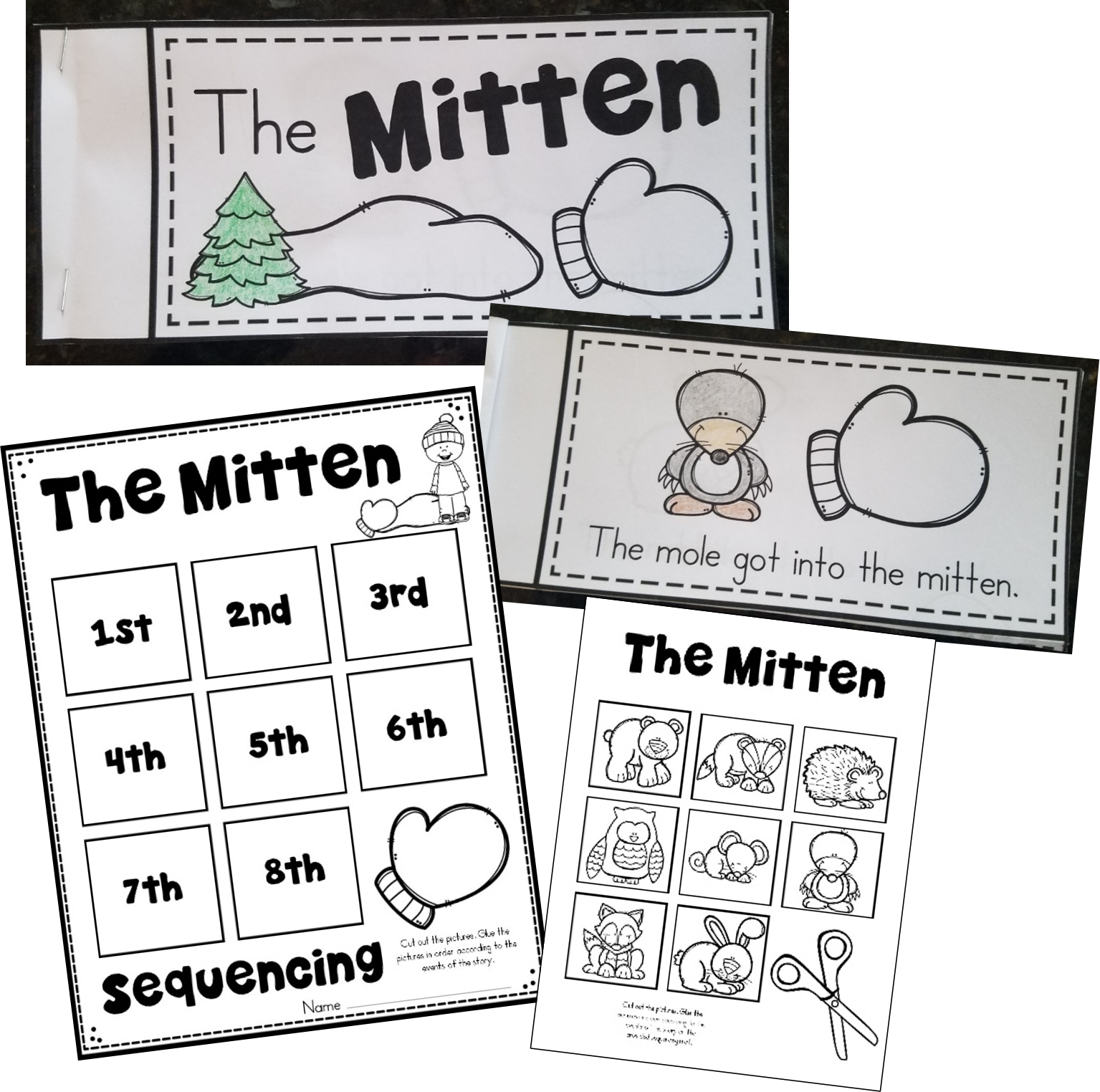 16 Activities To Go With The Mitten By Jan Brett
