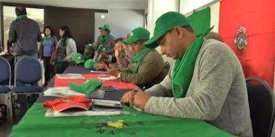 La paz de Colombia es una apuesta de los campesinos a nivel internacional