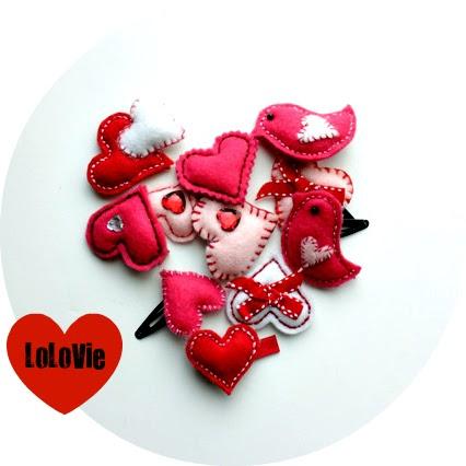 Lolovie Barrettes For Valentine S Day