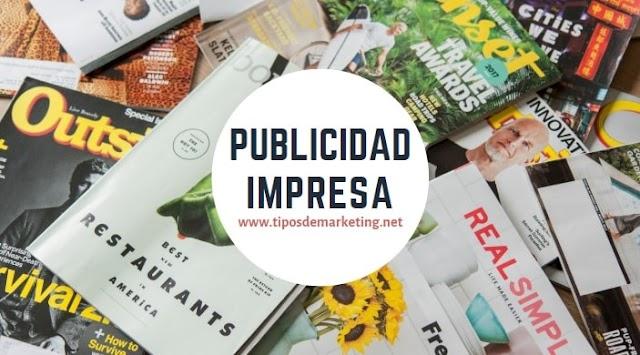 Publicidad Impresa 🥇 ¿Que es? definición, ejemplos, ventajas y desventajas