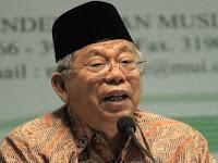 KH Ma'ruf Amin: Ayat Perang Tak Relevan Dipakai di Indonesia