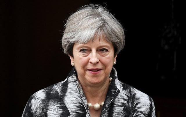 PM Inggris Theresa May (Facundo Arrizabalaga/EPA)