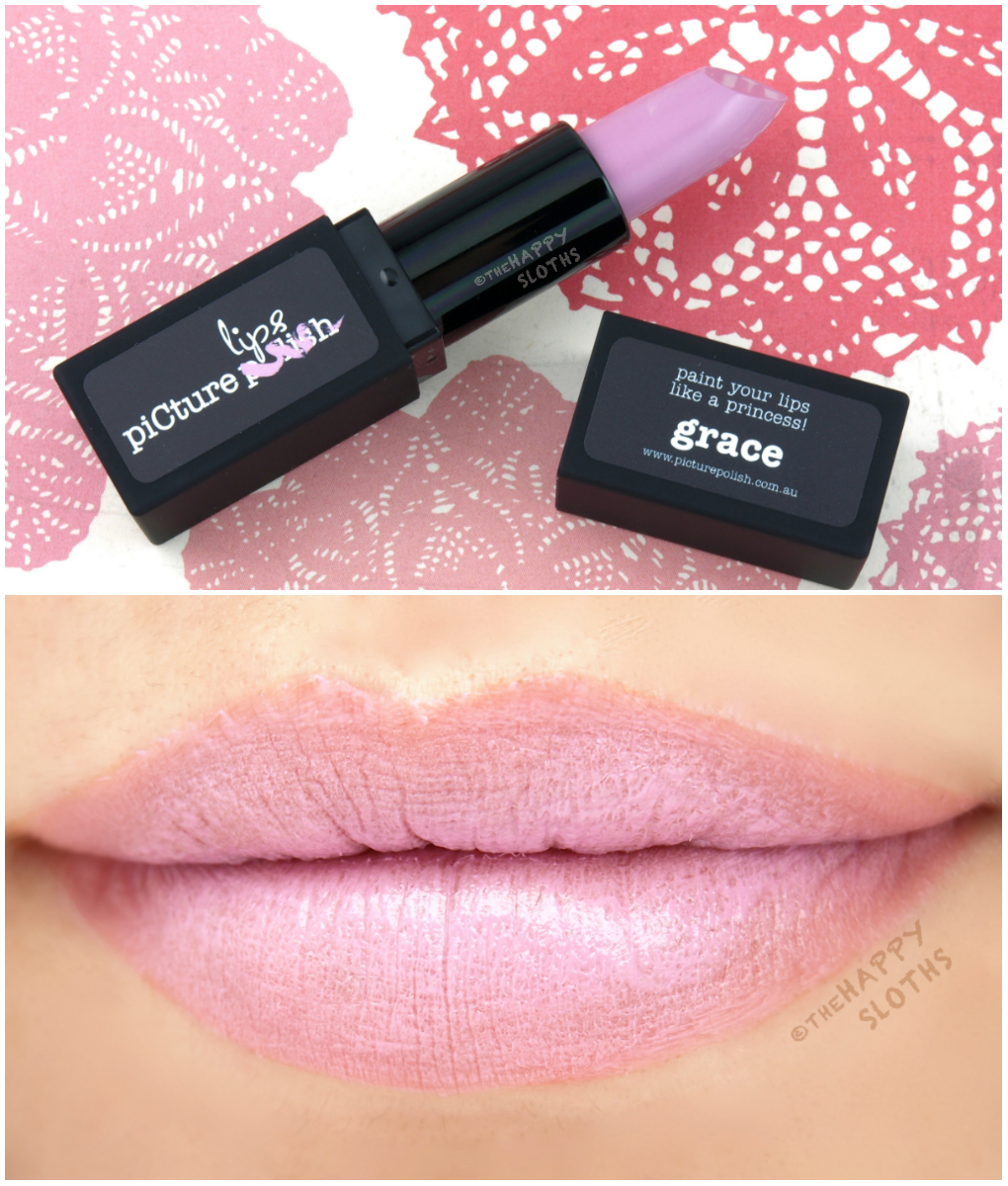 Picture Polish Matte Lipstick in Grace: Review and Swatches