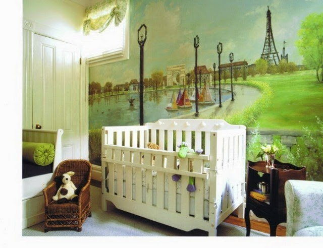 wall paint ideas nursery