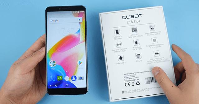 هاتف الاحلام CUBOT X18 Plus بكاميرا 20 ميغا و سعر لا يتعدى 130$ !
