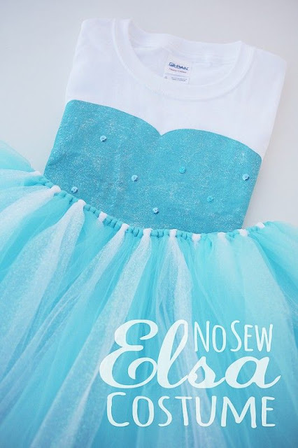diy party frozen costume