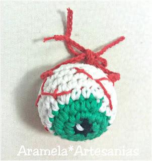 ojos amigurumi crochet