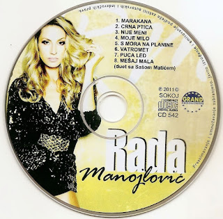 Rada Manojlovic - Diskografija (2009-2016)  Cd